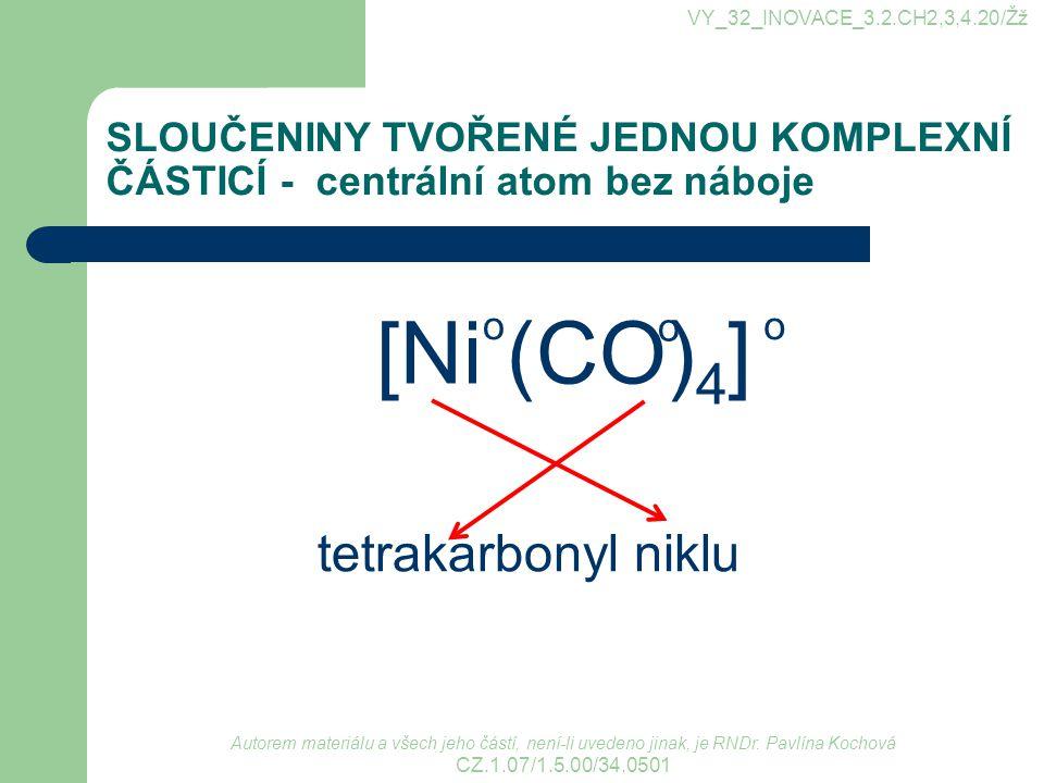 [Ni (CO)4] tetrakarbonyl niklu